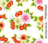 abstract elegance seamless... | Shutterstock . vector #793859065
