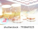 finance  profit  capital... | Shutterstock . vector #793869325