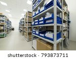 warehouse of components for the