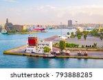 port of piraeus | Shutterstock . vector #793888285