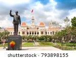 ho chi minh city  vietnam  12... | Shutterstock . vector #793898155