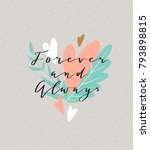 love background with stylish... | Shutterstock .eps vector #793898815