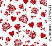 valentines day or wedding...   Shutterstock .eps vector #793904281