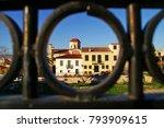 greece  athens  plaka district  ...   Shutterstock . vector #793909615