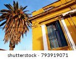 detail from an old traditional...   Shutterstock . vector #793919071