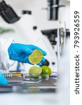 food safety laboratory... | Shutterstock . vector #793926559