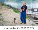 editorial use. mila 23  danube... | Shutterstock . vector #793929679