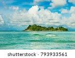 island in the indian ocean | Shutterstock . vector #793933561