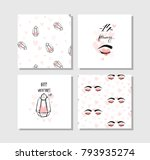 hand drawn vector abstract... | Shutterstock .eps vector #793935274