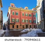 typical colorful building on...   Shutterstock . vector #793940611