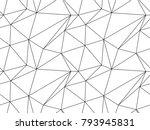 seamless geometric pattern.... | Shutterstock .eps vector #793945831