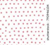 abstract handdrawn seamless... | Shutterstock .eps vector #793946104