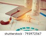 graduate study international... | Shutterstock . vector #793972567