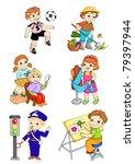 set works 1 | Shutterstock . vector #79397944