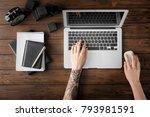 kyiv  ukraine   october 24 ...   Shutterstock . vector #793981591