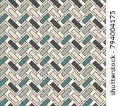 herringbone wallpaper. abstract ... | Shutterstock .eps vector #794004175