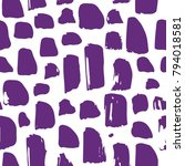 ultra violet. pattern drawn in... | Shutterstock .eps vector #794018581