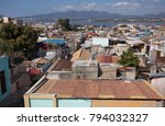 view of the old town of...   Shutterstock . vector #794032327
