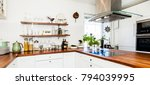 horizontal banner of fancy...   Shutterstock . vector #794039995