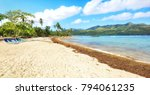 panorama of famous secluded... | Shutterstock . vector #794061235