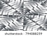 abstract architectural design.  | Shutterstock . vector #794088259