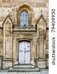 Enter To Gothic Church