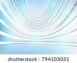 abstract futuristic of digital... | Shutterstock .eps vector #794103031