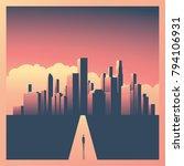 business or career opportunity... | Shutterstock .eps vector #794106931