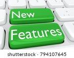 3d illustration of computer... | Shutterstock . vector #794107645
