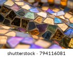 background of multi colored...   Shutterstock . vector #794116081