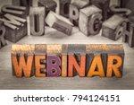 webinar banner     internet... | Shutterstock . vector #794124151
