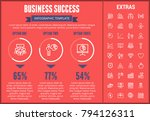business success infographic... | Shutterstock .eps vector #794126311