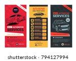 a set of web automotive... | Shutterstock .eps vector #794127994