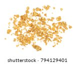 crunchy granola  muesli pile... | Shutterstock . vector #794129401