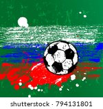 soccer   football  design... | Shutterstock .eps vector #794131801