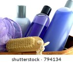 Isolated Bath Products