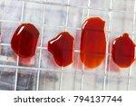 colony characteristics of... | Shutterstock . vector #794137744