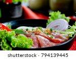 traditional vietnamese beef...   Shutterstock . vector #794139445