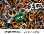 many aluminiums in the box. one ... | Shutterstock . vector #794143549