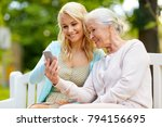 family  generation and people... | Shutterstock . vector #794156695