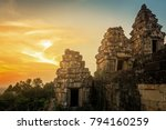cambodia temple ruins   holiday ... | Shutterstock . vector #794160259