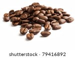 coffee bean with white... | Shutterstock . vector #79416892