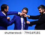 business conflict and argument... | Shutterstock . vector #794169181