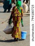 saint louis  senegal   apr 24 ... | Shutterstock . vector #794180725