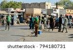 saint louis  senegal   apr 24 ... | Shutterstock . vector #794180731