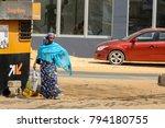 dakar  senegal   apr 27  2017 ... | Shutterstock . vector #794180755