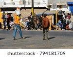 saint louis  senegal   apr 24 ... | Shutterstock . vector #794181709