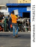 saint louis  senegal   apr 24 ... | Shutterstock . vector #794181721