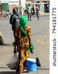 saint louis  senegal   apr 24 ... | Shutterstock . vector #794181775