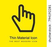 clicker bright yellow material...